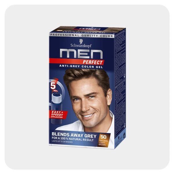 رنگ مو آقایان قهوه ای روشن