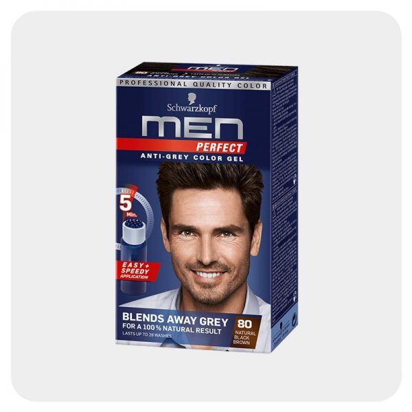 رنگ مو مردانه قهوه ای مشکی